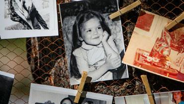 Олеся Кашицына в детстве