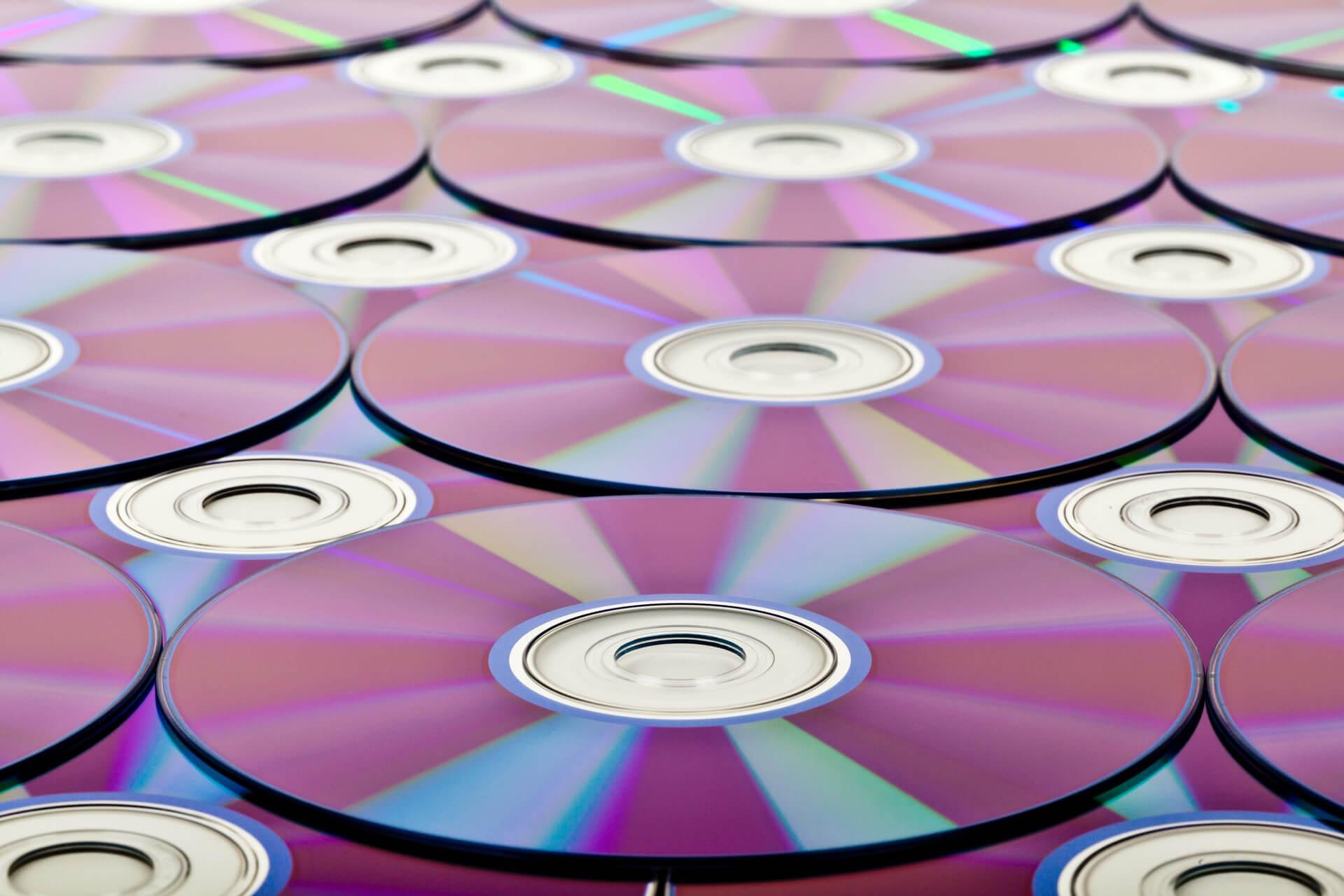 Фиолетовые DVD диски