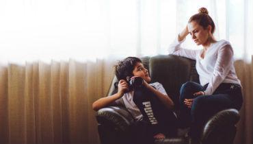 Олеся Кашицына с сыном