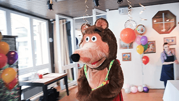 Детский праздник Маша и Медведь. Аг-во Лиля Малыш и Карлсон