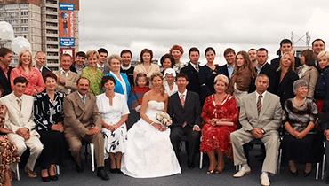 К юбилею свадьбы семьи Порошиных
