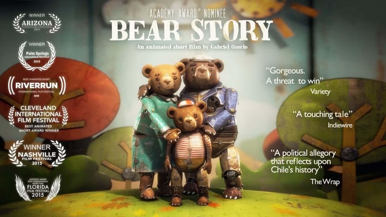 Медвежья история -Лучший короткометражный анимационный фильм История медведя, получивший премию Оскар 2016