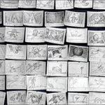 Раскадровка — это некий вспомогательный комикс, нарисованный сценарий, покадровое планирование съемки