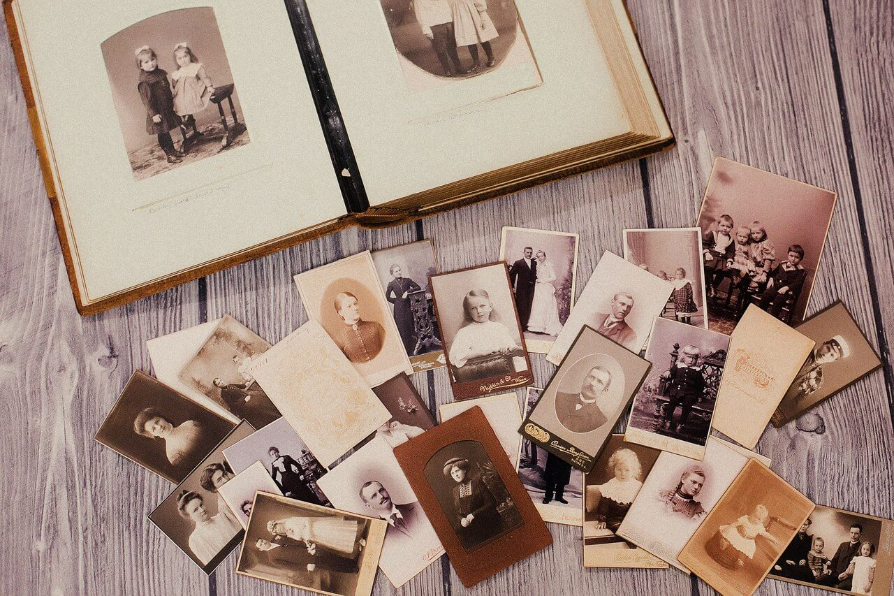 Библиотека фото и видео из семейного архива