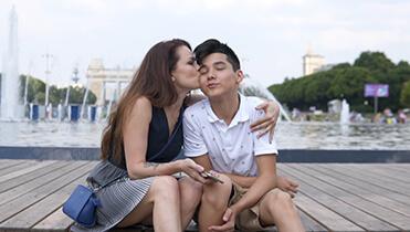Видеосъемка летней прогулки в Москве