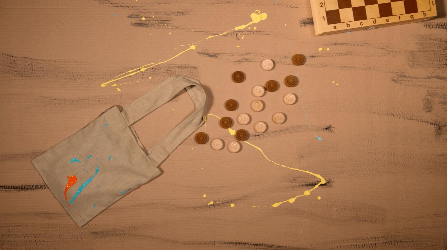 Кейс рекламного ролика пенала для акварельных красок Simple