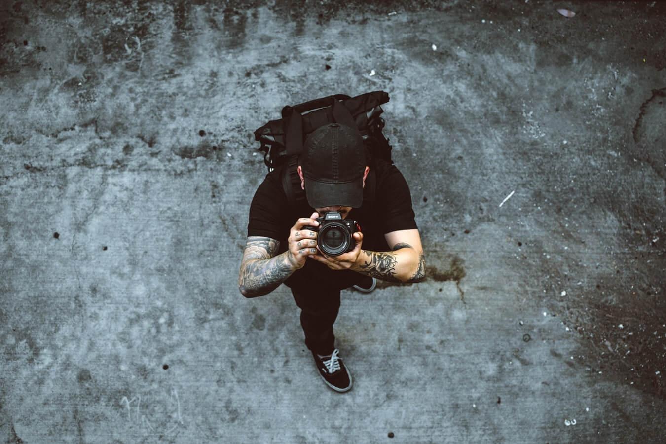 работа фотографа