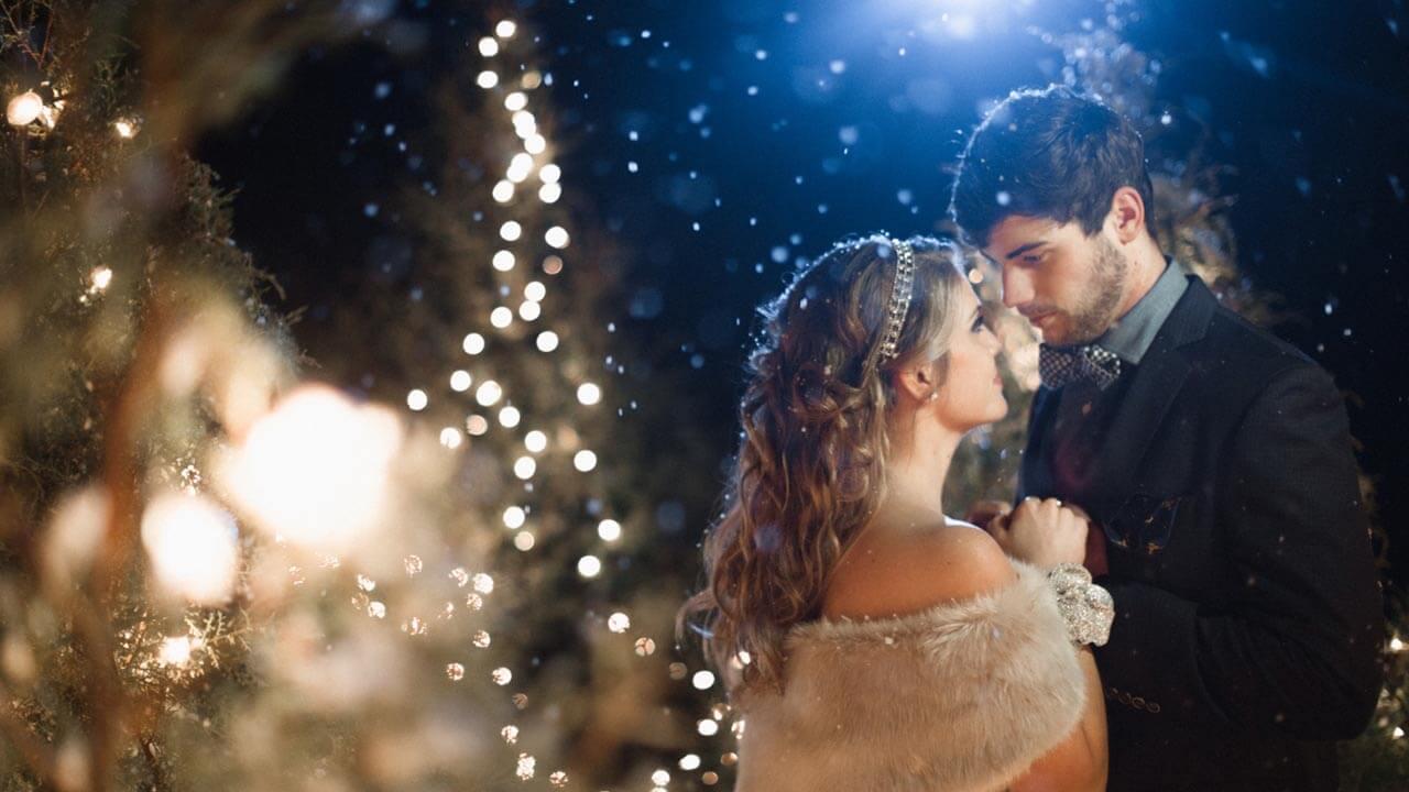 свадебная фотосъемка зимой