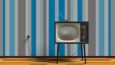 Винтажный телевизор