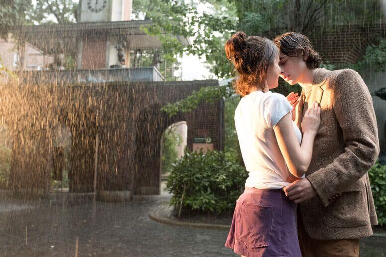 кадр из фильма Дождливый день в Нью-Йорке, реж. Вуди Аллен