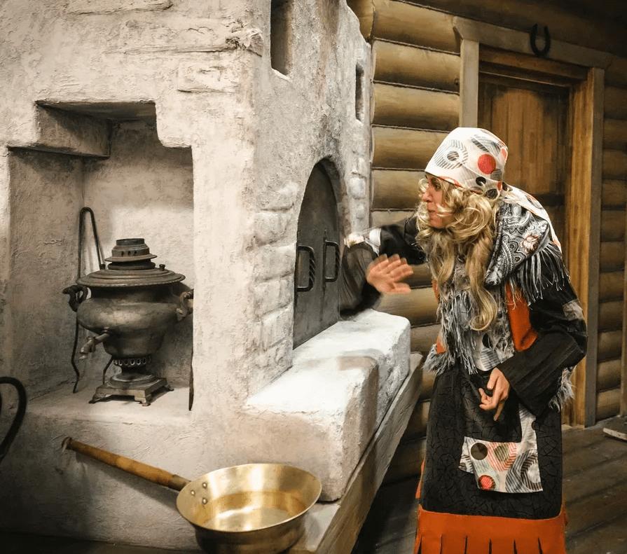 Наша добрая локация с настоящей русской печкой поможет вернуться в детство!