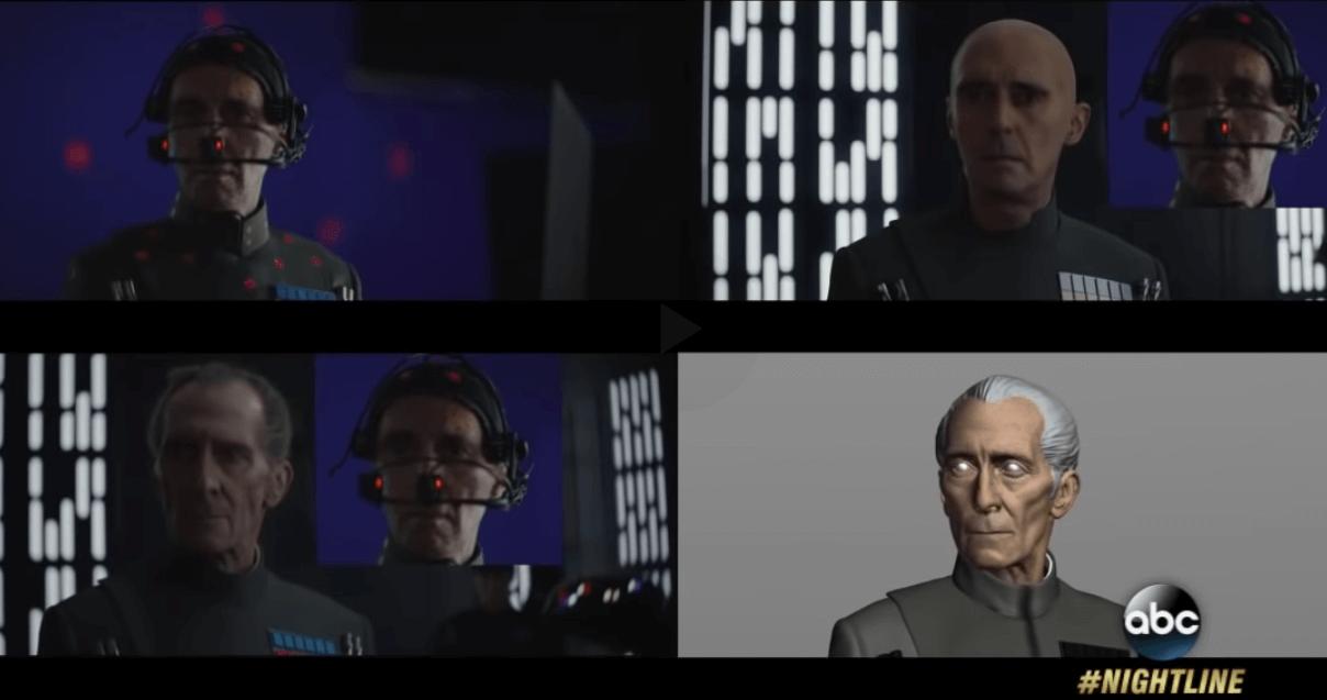 После смерти актрисы Кэрри Фишер и актёра Питера Кушинга для фильма Звёздные войны были созданы их цифровые копии