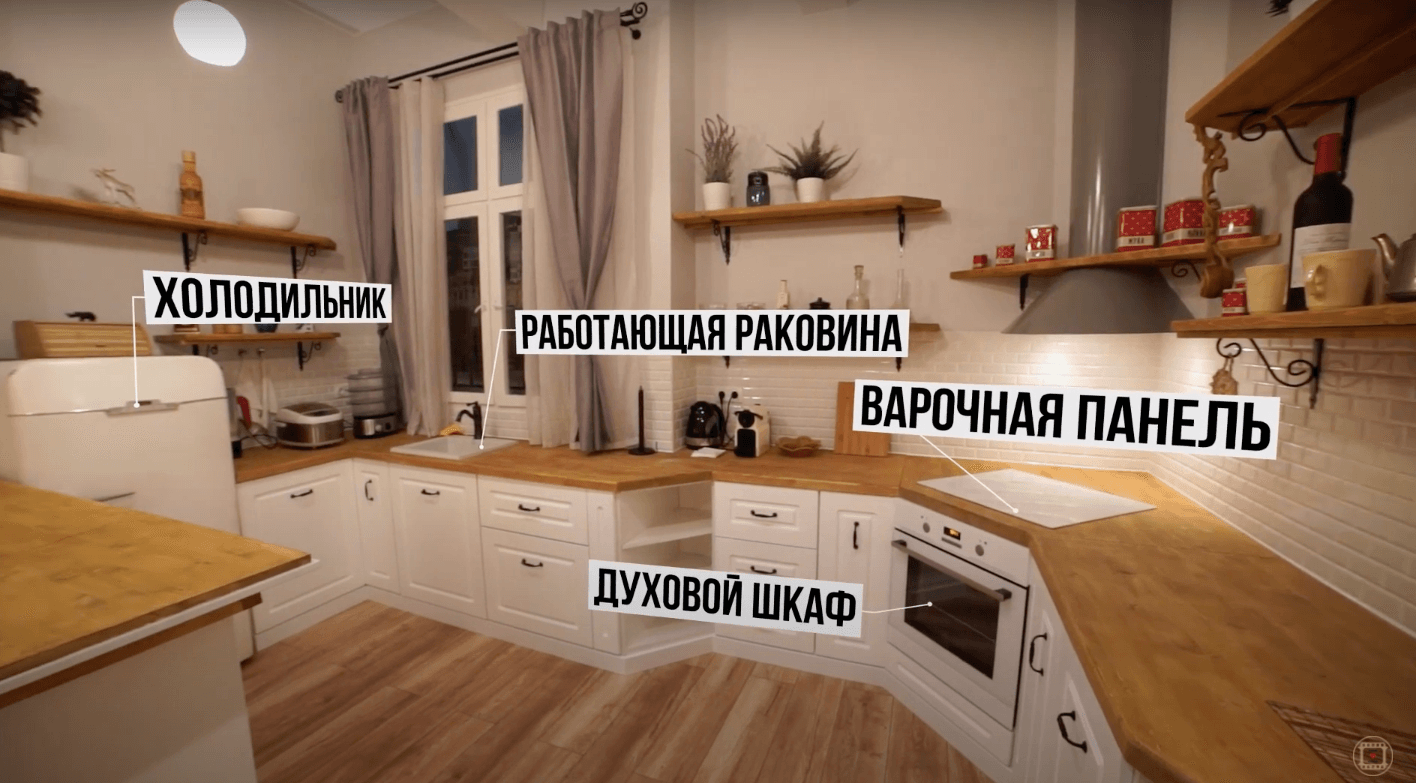 Локация Кухня