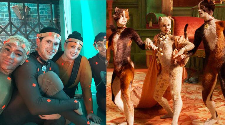 Волшебные существа, супергерои, говорящие животные, герои мюзикла Кошки, создаются с помощью техники захвата движения, Motion Capture
