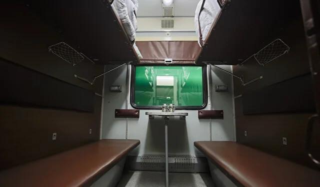 Локация Купе поезда