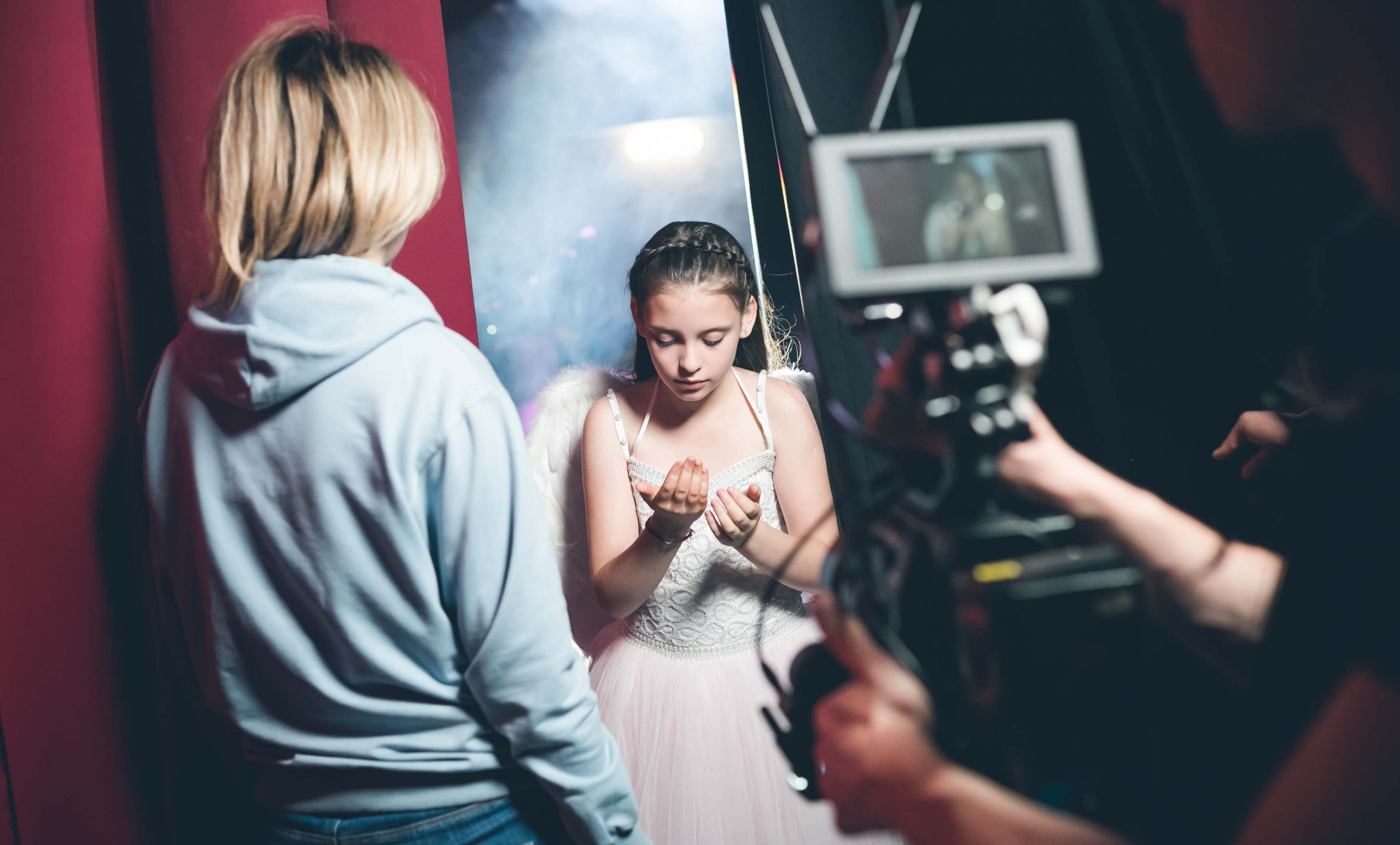 Съёмка музыкального клипа