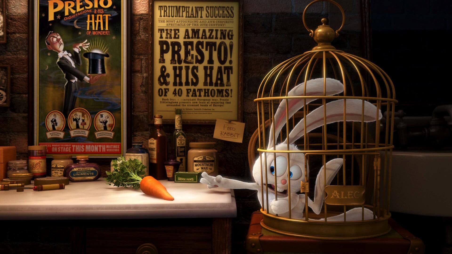 Престо — Потрясающий мультик про фокусника, кролика и морковку